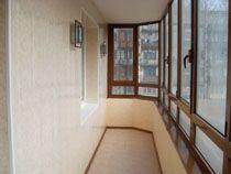 Отделка балкона в Улан-Удэ. Отделка лоджии